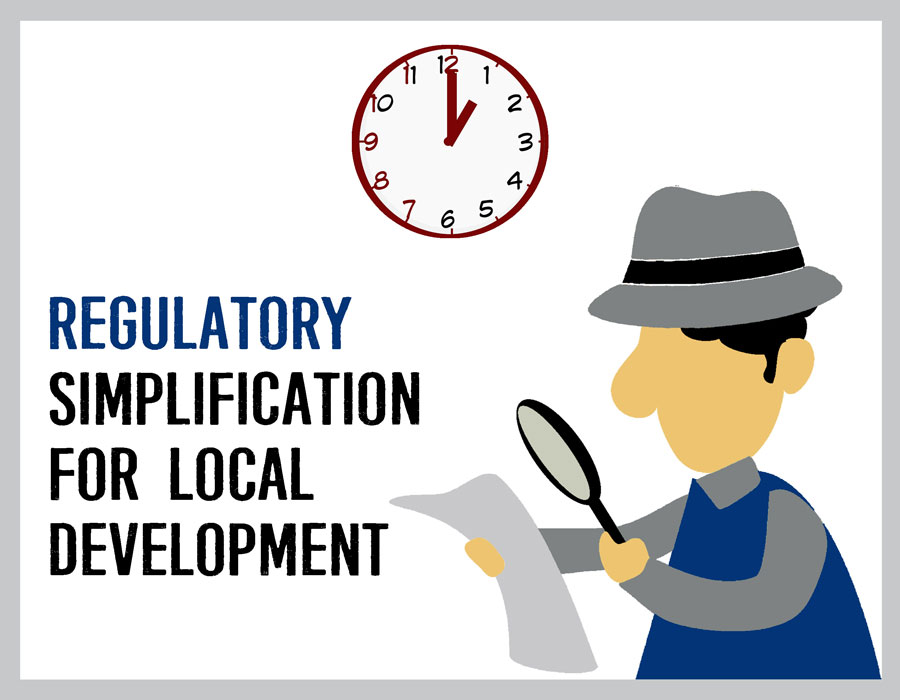 Regulatory Simplification for Local Development